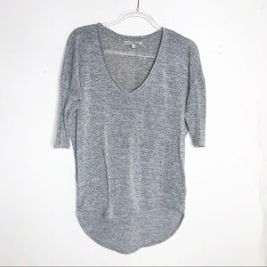 Express one eleven gray basis t-shirt size XS